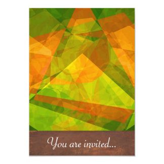 Abstract Polygons 127 Personalized Announcement