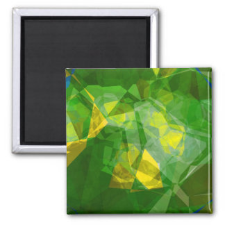 Abstract Polygons 133 Fridge Magnets