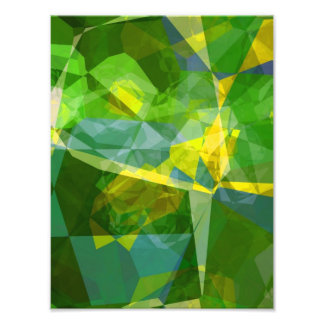 Abstract Polygons 134 Photo Print