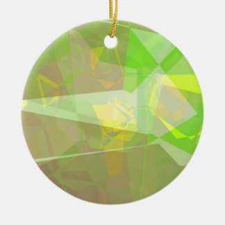 Abstract Polygons 141 Ceramic Ornament