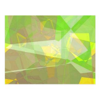 Abstract Polygons 141 Postcard