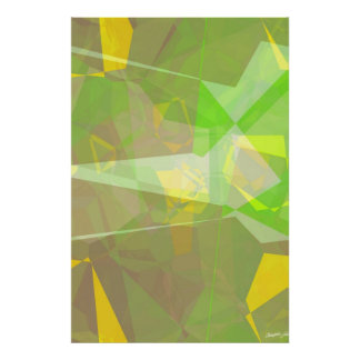 Abstract Polygons 141 Poster