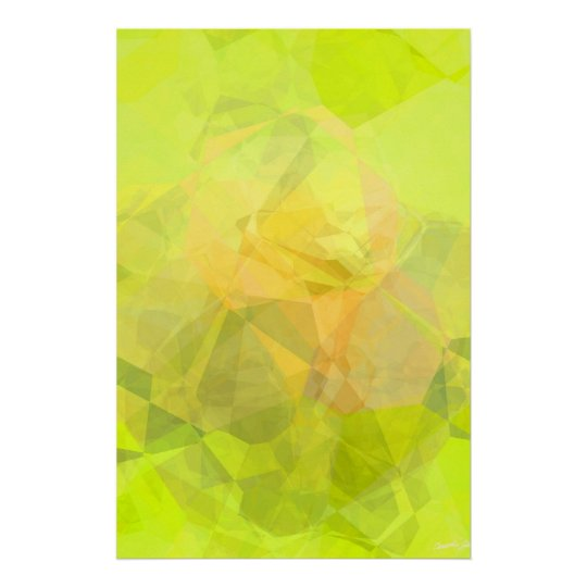 Abstract Polygons 143 Poster