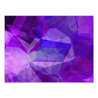 Abstract Polygons 147 Photo Print