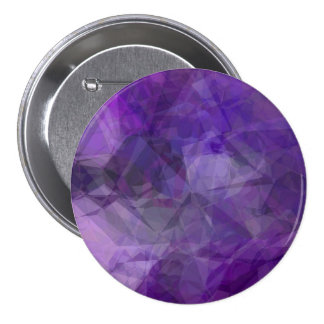 Abstract Polygons 155 3 Inch Round Button