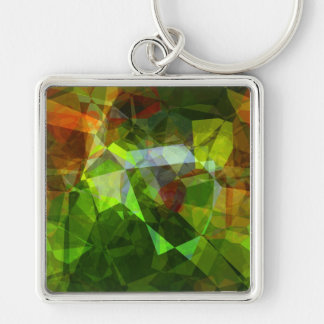 Abstract Polygons 160 Keychain