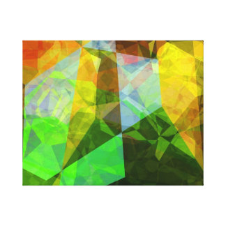 Abstract Polygons 161 Canvas Print