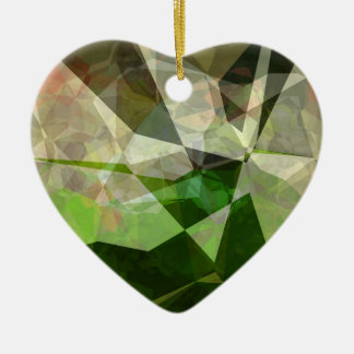 Abstract Polygons 163 Ceramic Ornament