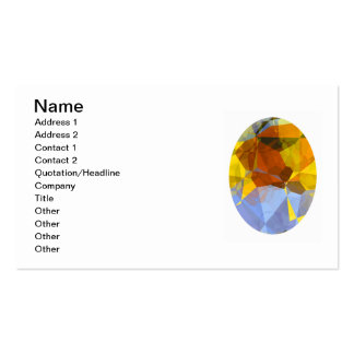 Abstract Polygons 180 Business Card