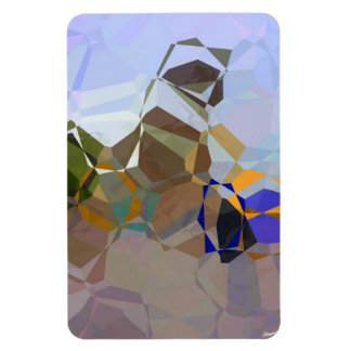Abstract Polygons 18 Magnet