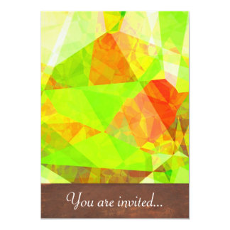 Abstract Polygons 195 Card