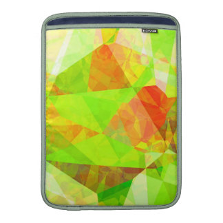 Abstract Polygons 195 Sleeves For MacBook Air