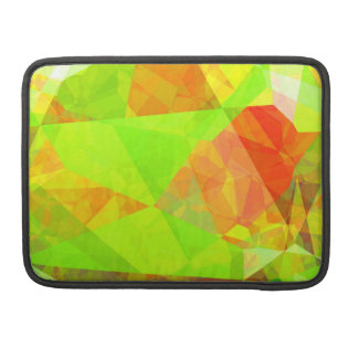 Abstract Polygons 195 Sleeves For MacBook Pro
