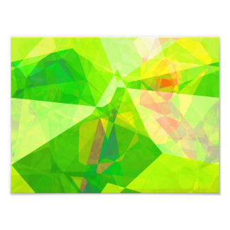 Abstract Polygons 197 Photo Print