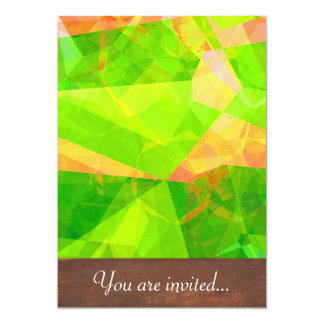 Abstract Polygons 198 Card