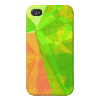Abstract Polygons 199 iPhone 4/4S Case