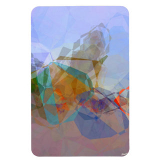 Abstract Polygons 19 Magnet