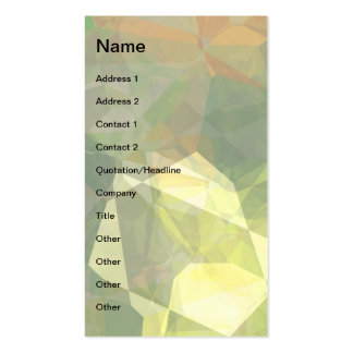 Abstract Polygons 1 Business Card Templates