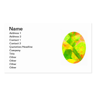 Abstract Polygons 202 Business Card