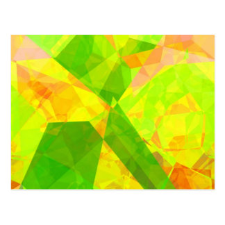 Abstract Polygons 202 Postcard