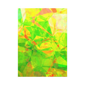 Abstract Polygons 206 Canvas Print
