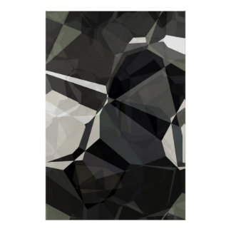 Abstract Polygons 209 Poster