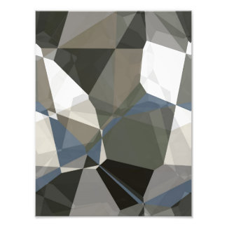 Abstract Polygons 214 Photo Print