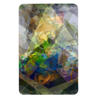 Abstract Polygons 222 Magnet