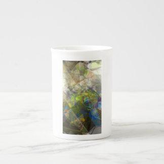 Abstract Polygons 223 Porcelain Mug