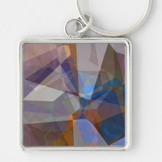 Abstract Polygons 229 Keychain