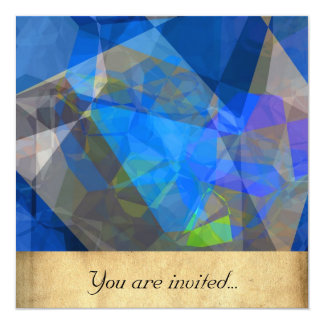 Abstract Polygons 233 Personalized Invitations