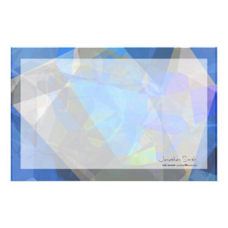 Abstract Polygons 233 Personalized Stationery