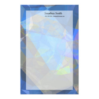 Abstract Polygons 233 Customized Stationery