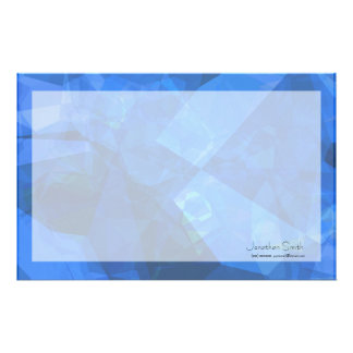 Abstract Polygons 234 Customized Stationery