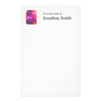 Abstract Polygons 239 Personalized Stationery