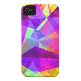 Abstract Polygons 241 iPhone 4 Cases