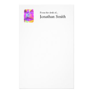 Abstract Polygons 241 Personalized Stationery
