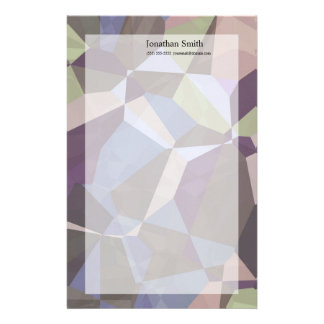 Abstract Polygons 245 Stationery