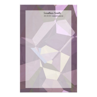 Abstract Polygons 247 Stationery Paper