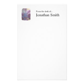Abstract Polygons 248 Personalized Stationery