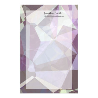 Abstract Polygons 249 Stationery Paper
