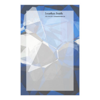 Abstract Polygons 251 Stationery Design