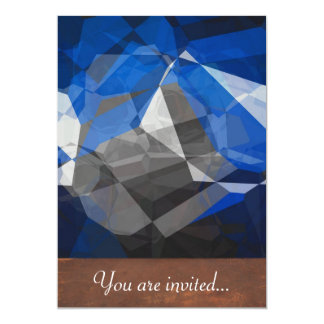 Abstract Polygons 252 Personalized Announcements