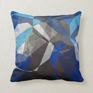 Abstract Polygons 253 Throw Pillow