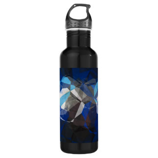 Abstract Polygons 253 Water Bottle