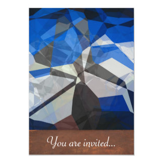 Abstract Polygons 257 Invite