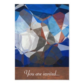 Abstract Polygons 258 Personalized Invitation