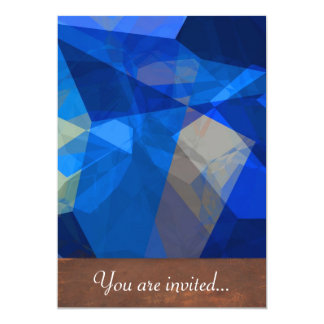 Abstract Polygons 259 Personalized Invite