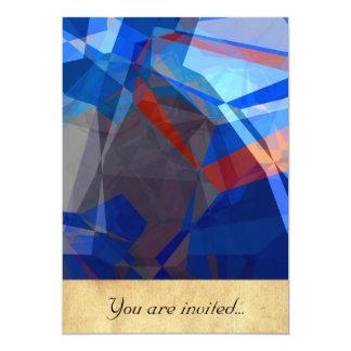 Abstract Polygons 260 Custom Invite