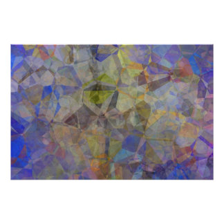 Abstract Polygons 33 Poster